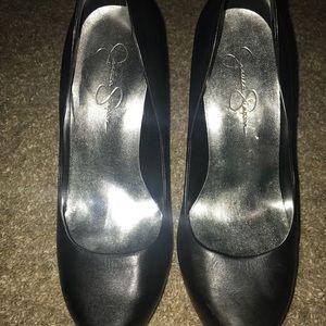 Jessica Simpson Shoes - Black heels size 8.5